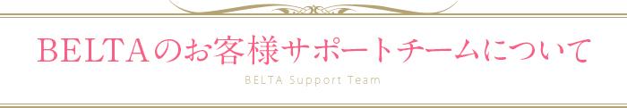 BELTAのお客様サポートチームについて