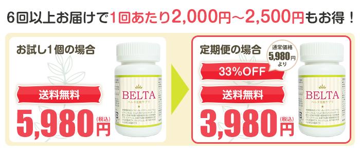 定期の申込みなら1個あたり2000円もお得!
