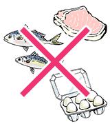 魚・肉・卵